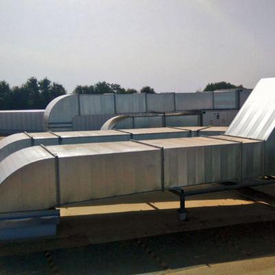 Ventilación y tratamiento de aire con recuperación