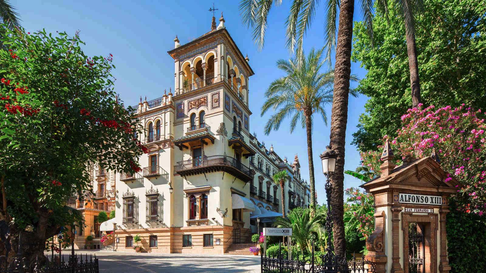 Reforma del sistema de climatización del Hotel Alfonso XIII en Sevilla