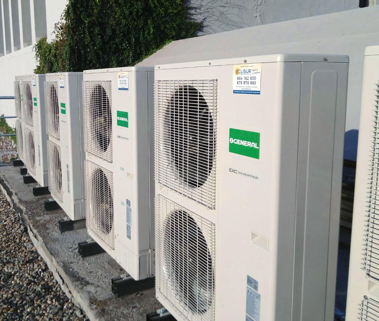 Instalación de sistema de climatización Facultad de Farmacia
