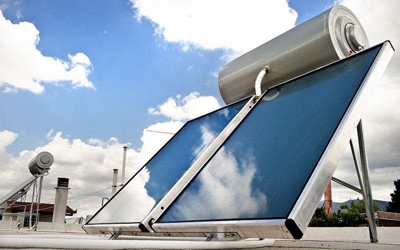 Instalación solar térmica residencial